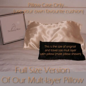Our new but much ask for full size unique multi-layer satin pillow