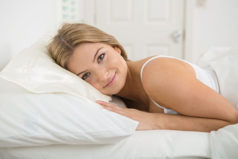 The original multi layer flowing satin anti wrinkle pillow