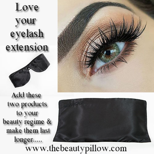 semi permanent eye lash extentions The Beauty Pillow